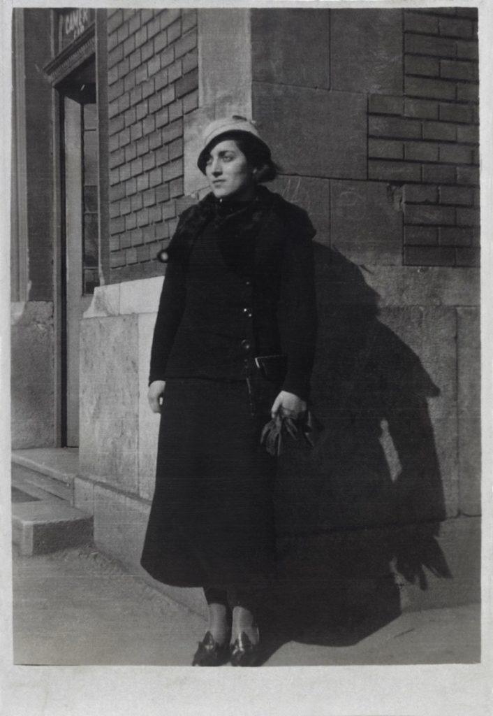 Magda Frank en Budapest-Hungría