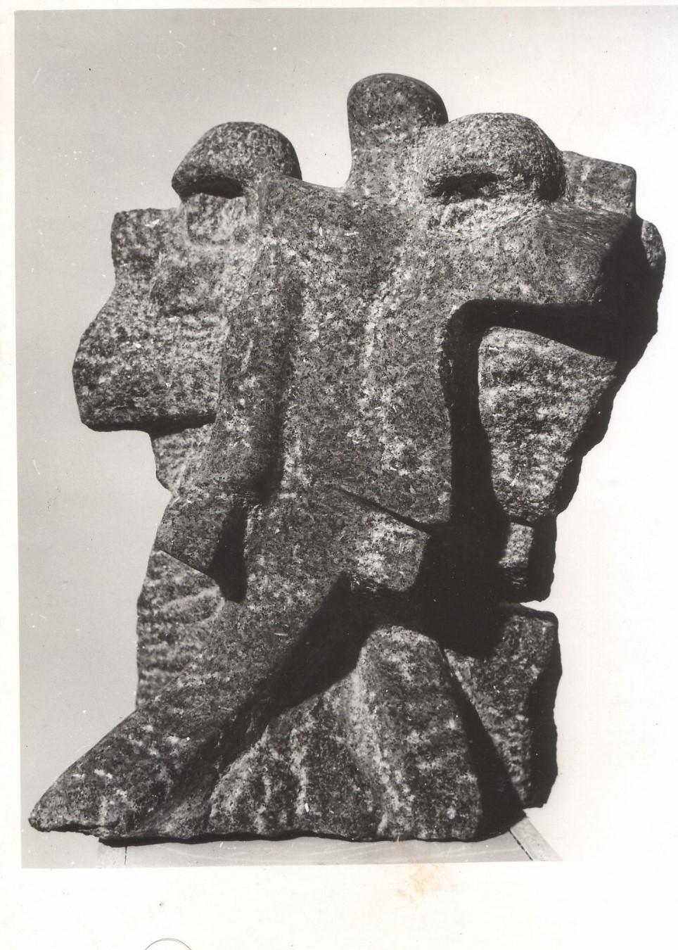 Piedra volcanica. Circa 1965, Francia